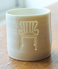 Load image into Gallery viewer, Ernest Race Chair mini porcelain tealight holder