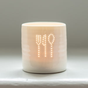 Foodie mini tealight holder