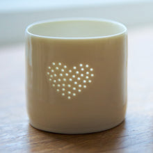 Load image into Gallery viewer, Full Heart mini tealight holder