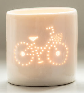 Girl's Bike mini tealight holder