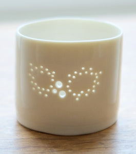 Holly mini tealight holder