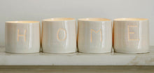Load image into Gallery viewer, Home letter minis tealight holder set