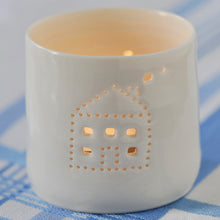 Load image into Gallery viewer, House mini tealight holder