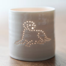 Load image into Gallery viewer, Labrador mini porcelain tealight holder