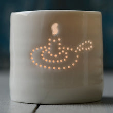 Load image into Gallery viewer, Candle mini porcelain tealight holder