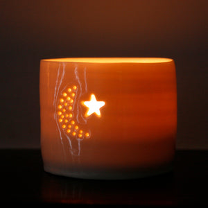 Night mini tealight holder