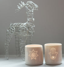 Load image into Gallery viewer, Hamsa mini tealight holder