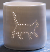 Load image into Gallery viewer, Prowling pussycat mini tealight holder