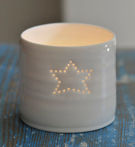 Single star mini tealight holder
