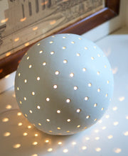 Load image into Gallery viewer, Luna Snowball Light - Large Glazed