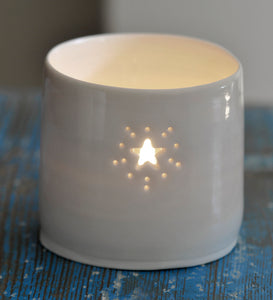 Starburst mini tealight holder