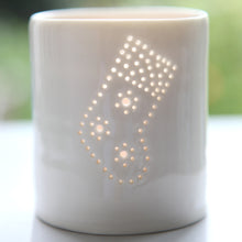 Load image into Gallery viewer, Stocking mini porcelain tealight holder