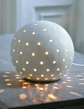 Load image into Gallery viewer, Luna Snowball Light Small - Glazed Finish