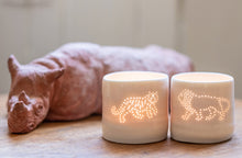 Load image into Gallery viewer, Tiger mini tealight holder