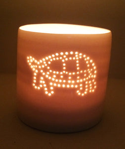 Tortoise mini tealight holder