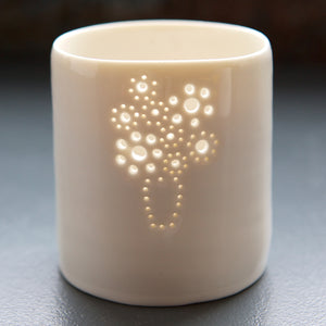 Bouquet of Flowers mini tealight holder