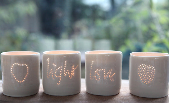 Bamford love light tealights