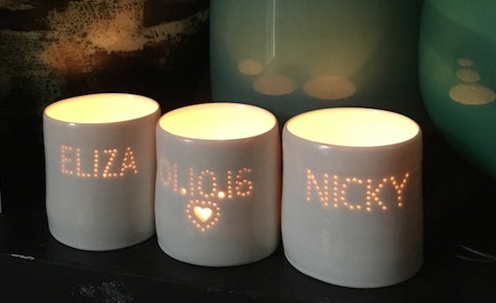 Eliza & Nicky mini tealights