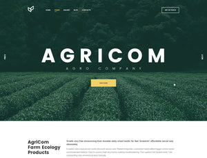 Agriculture - Agricom - Online Shop Style