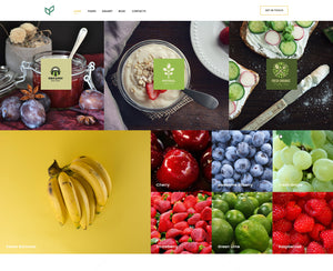 Agriculture - Organic - Online Shop Style