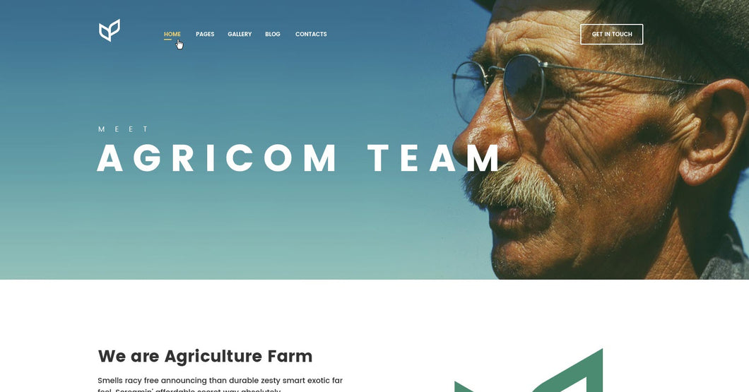 Agriculture - Team - Online Shop Style