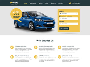 Simple - Car Hire Online Platform