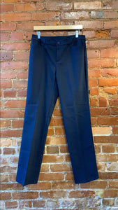 Women's Christopher and Banks Navy 4 Pocket Trouser Pant Size 6