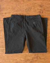 Load image into Gallery viewer, Men's American Eagle Slim 360 Extreme Flex Black Pants Size 34
