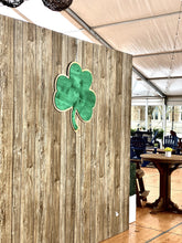 Load image into Gallery viewer, ND Shamrock Wall Art