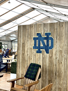 ND Monogram  Wall Art 2