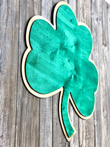 ND Shamrock Wall Art