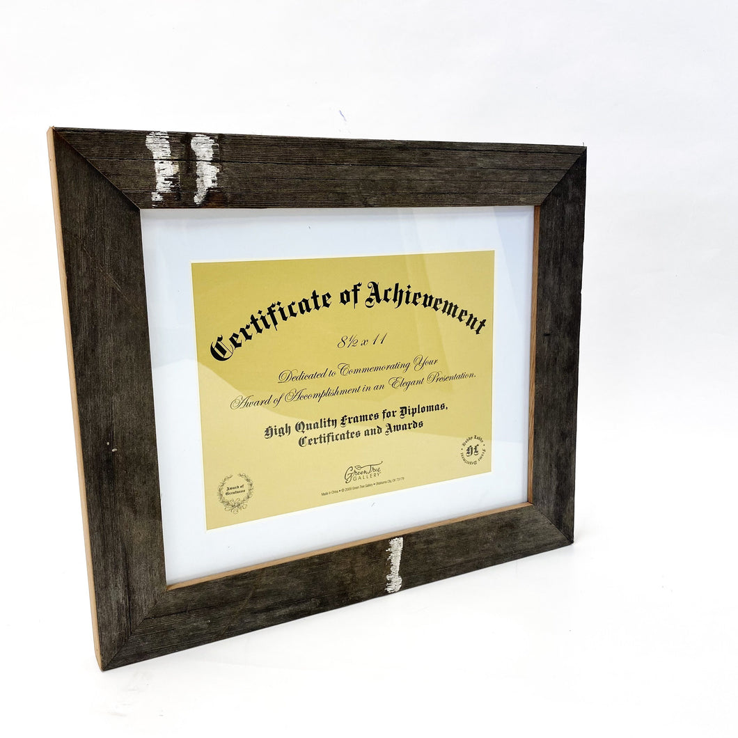 ND stadium Bench Diploma Frame