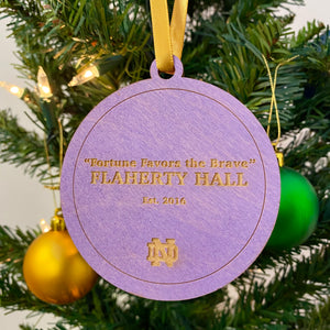 Flaherty Hall Christmas Ornament
