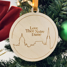 Load image into Gallery viewer, ND Mom Christmas Ornament