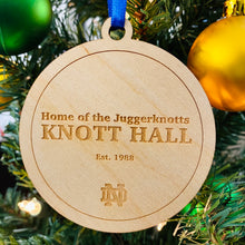 Load image into Gallery viewer, Knott Hall Christmas Ornament
