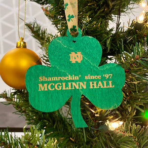 McGlinn Hall Christmas Ornament