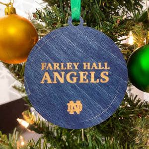 Farley Hall Christmas Ornament