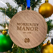 Load image into Gallery viewer, Morrissey Manor Hall Christmas Ornament