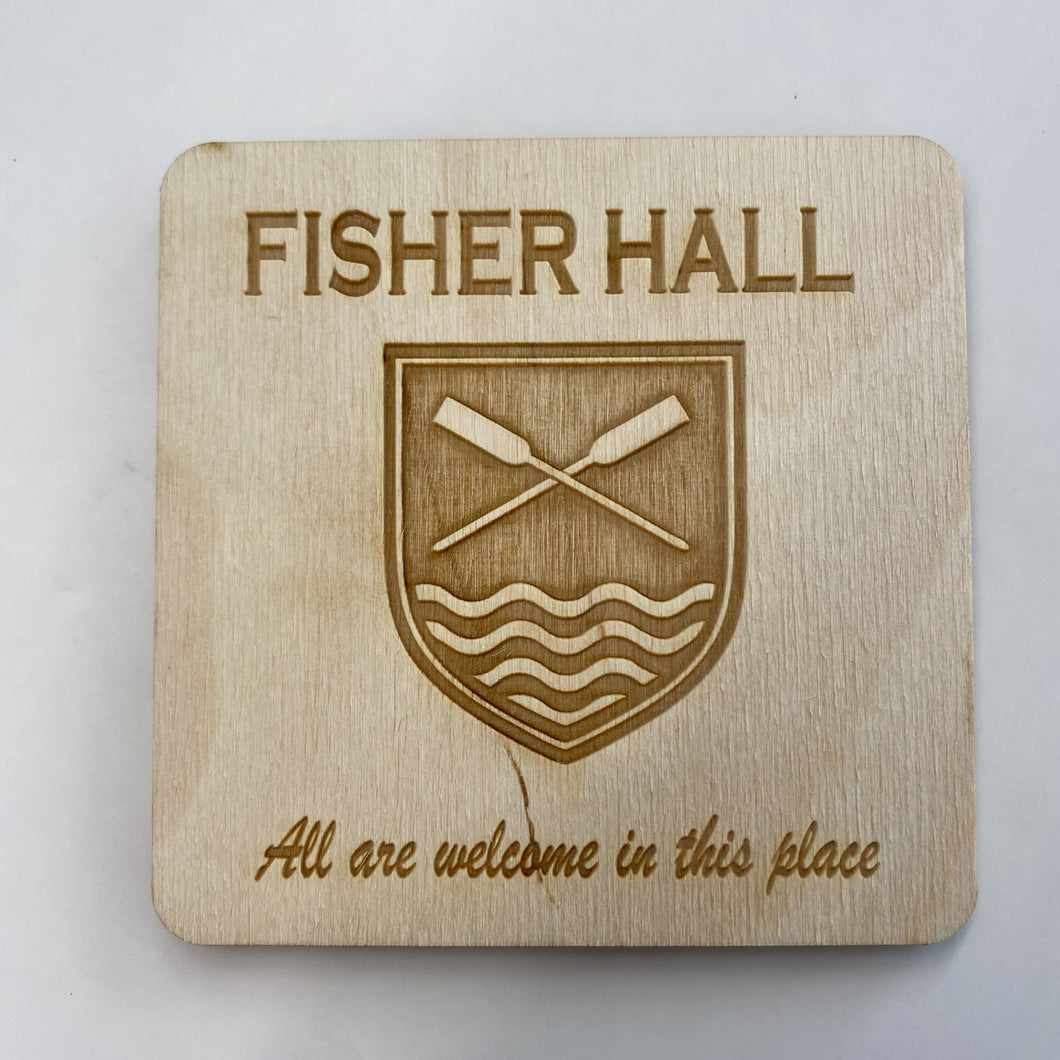 Fisher Hall Coaster Set
