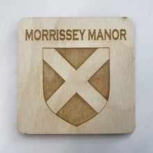 Load image into Gallery viewer, Morrissey Manor Hall Coaster Set