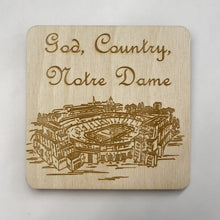 Load image into Gallery viewer, ND Stadium Coaster Set 2