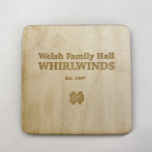 Welsh Family Hall Coaster Set