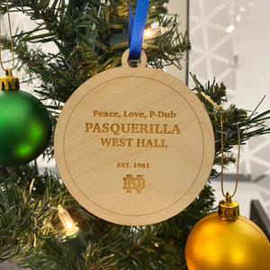 Pasquerilla West Hall Christmas Ornament