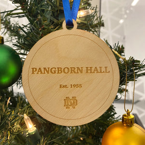 Pangborn Hall Christmas Ornament