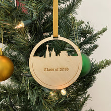 Load image into Gallery viewer, ND Grad Christmas Ornament