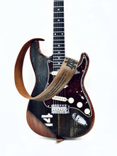 "Load image into Gallery viewer, ""Rock With Rock"" - Stadium Bench Wood Electric Guitar"