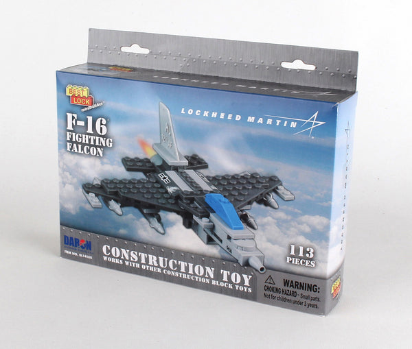 BL14188 F-16 113 PIECE CONSTRUCTION TOY