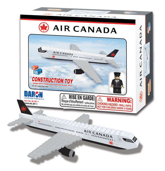 BL287-1 AIR CANADA 55 PIECE CONSTRUCTION TOY NEW LIVERY
