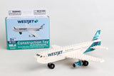 BL461-1 WESTJET 56 PIECE CONSTRUCTION TOY NEW LIVERY