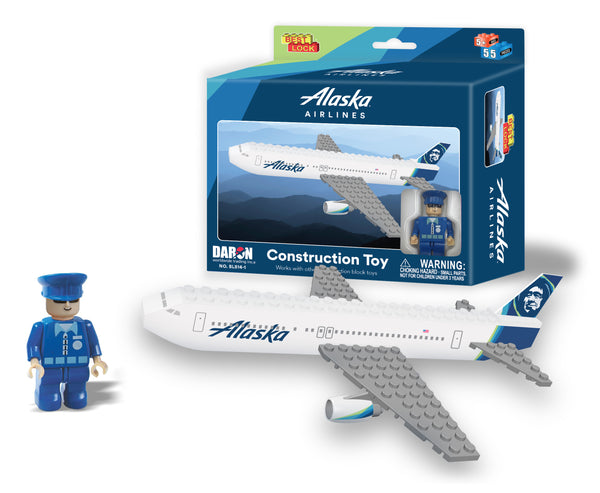 BL814-1 ALASKA 55 PIECE CONSTRUCTION TOY NEW LIVERY